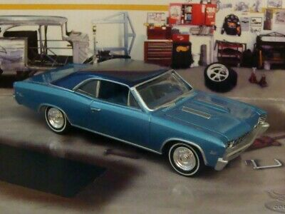 1967 67 Chevy Chevelle SS V-8 Super Sport Muscle Car 1/64 Scale Limited Edit I