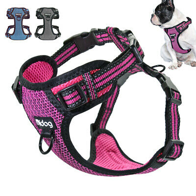 Adjustable No Pull Dog Harness with Front Clip Reflective for Walking Dogs