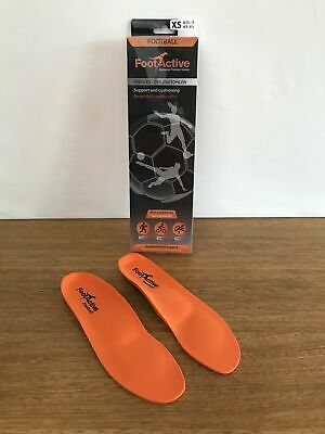 🔸Womens FootActive Football Ruby Cycling Athletics Sports Insoles Size XS 5-6.5