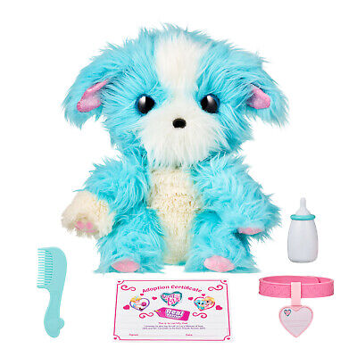 Toy Pets Blue Little Live Scruff-a-Luvs Plush Mystery Electronic Real Rescue Pet