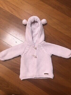 Sprout Baby Girl Hood Jumper Cardigan 00
