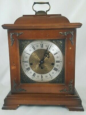 Hamilton 340-020 Westminster Chime Mantle Clock with Key