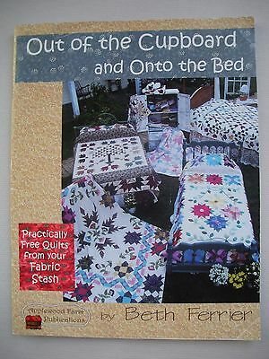 Out of the Cupboard and Onto the Bed - Beth Ferrier - Quilting Pattern Book