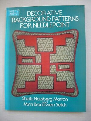 Decorative Background Patterns for Needlepoint - Sheila Nassberg Marton