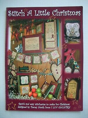 Stitch a Little Christmas - Tracey North - Country Embroidery Pattern Book