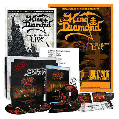 KING DIAMOND - Songs for the Dead Live (Ltd. Numbered Box Set) SEALED!!!