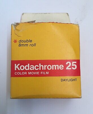 Vintage Kodak 8mm Film Box And Contents, No Film - 1978 Collectable