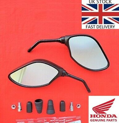 Honda PCX125 GENUINE Mirrors LEFT + RIGHT Mirror 2018 2019 ****UK STOCK****
