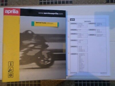 aprilia . special tools catalogue