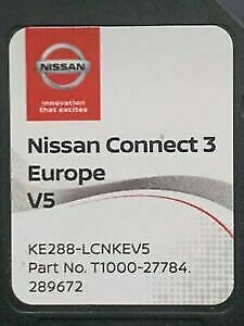 2019/2020 Nissan Connect 3 V4 Sat Nav Lcn3 Sd Card 2019 / 2020 Maps Micra Note