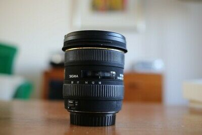 Sigma EX 10-20mm F/4.0-5.6 HSM DC EX Lens. Wide-angle, excellent condition.