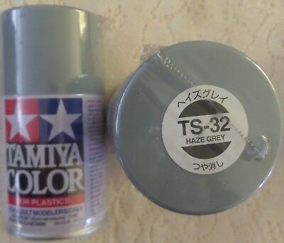 NEW/SEALED TAMIYA TS-32- HAZE GREY -100ml SPRAY CAN-4 AVAILABLE OR OTHER COLOURS