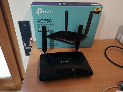 TP-Link TL-MR200 Router WIRELESS 4G LTE, Wi-Fi AC750 PER SIM SCHEDA MOBILE DATI
