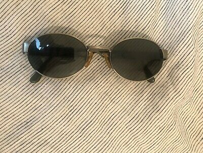 Vintage Florence Vogue Metal Oval Sunglasses Frames Italy, Good Condition!