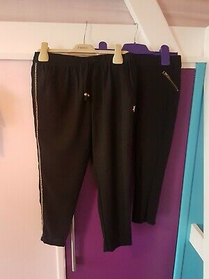 Girls Next Black Trousers And Harem Style Aged 6