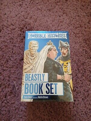 Horrible Histories Foiled Classic Editions by Terry Deary (2016, Paperback)