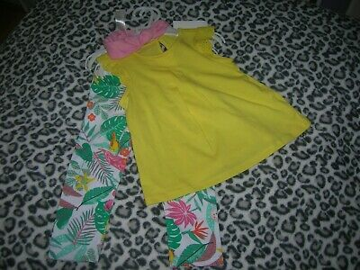 3 Piece Set for Girl 9-12 months H&M