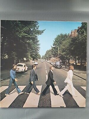 The Beatles ... Abbey Road Vinyl L.P Record.