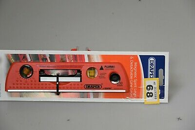 Draper Spirit Level, magnetic, detachable line. Tag 68. New on card