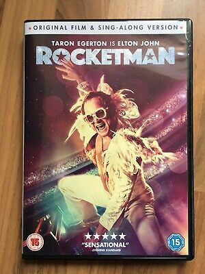 Rocketman dvd 2019