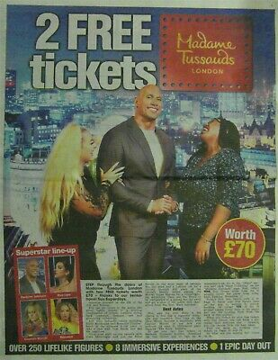 2 MADAME TUSSAUDS LONDON Tickets - All 9 Sun Savers Codes Pick Your Own Date