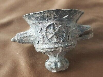 Roman candle holder very rare indeed from Catterick A must read description L48a