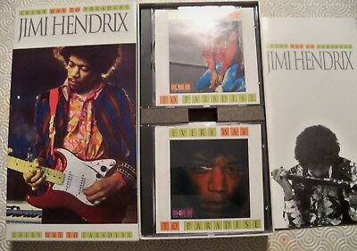 "Jimi Hendrix ""Every Way To Paradise"" 4 Cd Box Set Demos And Outtakes + Booklet"