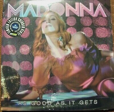 """Madonna """"As Good As It Gets""""3 Coloured Vinyl Lp Confessions Tour Rehearsal 2006"""