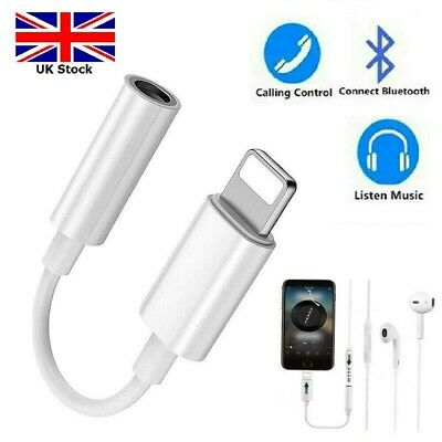 Lightning to 3.5mm Headphone Jack Adapter For Apple iPhone 8 7 Plus XR X XS Max
