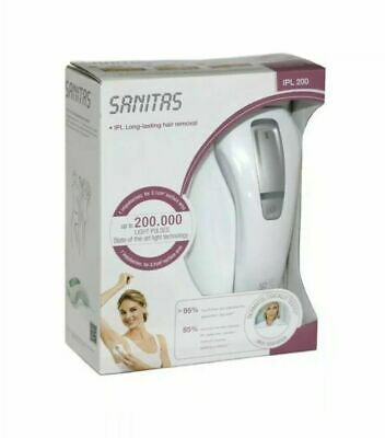 SANITAS IPL 200 - Long lasting Hair Removal Device (New Packed)