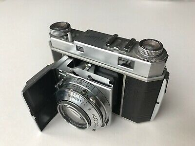 Vintage Kodak Retina II Type 014 35mm camera with original case, made in Germany