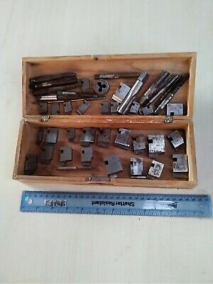 Job Lot of Engineering Tools mainly used Coventry dies and taps about 40 total.