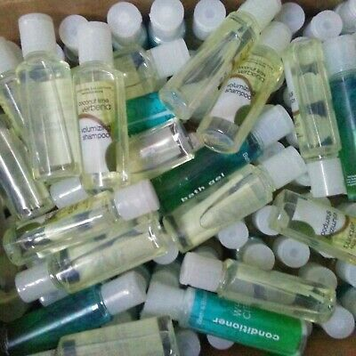 Lot Hotel Motel Travel Sample size Shampoo Conditioner Soap Body Charity Holiday