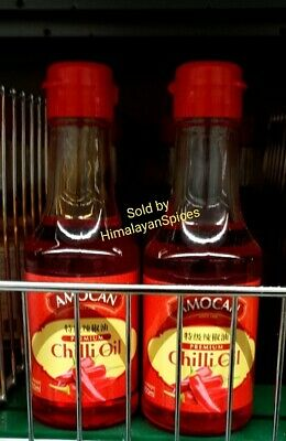 AMOCAN PREMIUM  CHILLI  OIL 150ml . MULTI BUY .UK SELLER