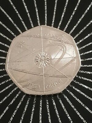 50p Coin Sir Issac Newton, Very Rare And Collectable.