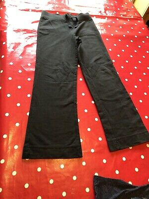 Girls Age 8-9 Years - George Black Jogging Bottoms