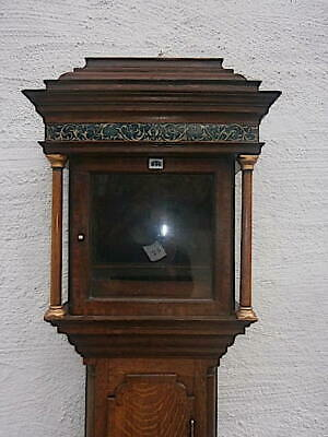 EARLY  oak LONGCASE CLOCK  case for a  11 inch dial C1730