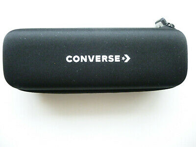 CONVERSE Black Zipped Glasses Case NWOT