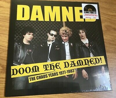The Damned - Doom The Damned - Rare Record Store Day 2018 Punk Rock Vinyl italy