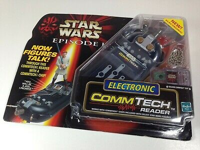 Star Wars Episode I 1 Electronic CommTech Reader w/ chip by Hasbro, new sealed