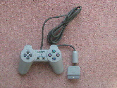 Official Sony PlayStation One PS1 Grey Controller SCPH-1080