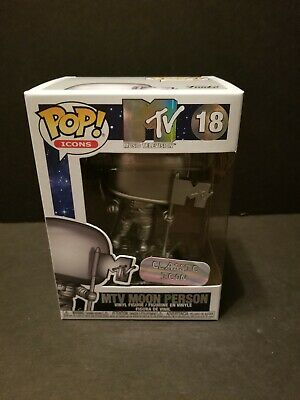 New Funko Pop MTV Moon Person Classic Icon #18