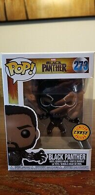 Funko POP! Marvel BLACK PANTHER #273 Vinyl Figure Limited Edition CHASE