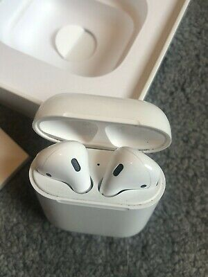 Apple MV7N2ZM/A Airpods Bluetooth headphone With Charging Case - White