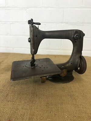 Early Singer Model 24 Chain Stitch Antique Sewing Machine, C1871