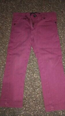 Girls NEXT Dark Pinky/Purple Jeans/Trousers Age 2-3 Years