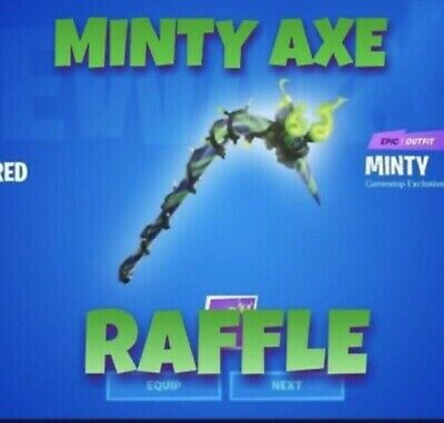 """Fortnite Merry Mint Axe, Minty Pickaxe Code Raffle!  """"Trusted Seller"""""""