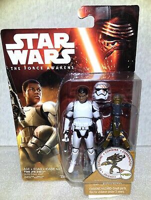 "Hasbro STAR WARS: The Force Awakens Finn (FN-2187) Stormtrooper 3.75"" Figure"
