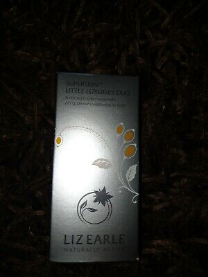 Liz Earle Superskin little luxuries duo A rich night concertrate lip balm New