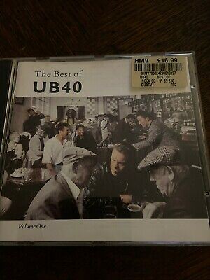THE BEST OF UB40 vol 1 - GREATEST HITS CD - FOOD FOR THOUGHT / RED RED WINE +